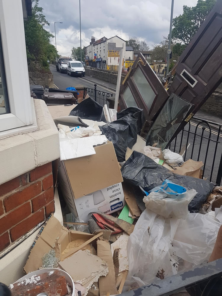 Partial House Clearance Service in Sheffield - Before