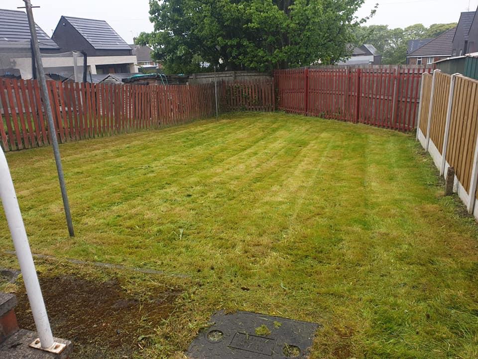 Garden Maintenance - After