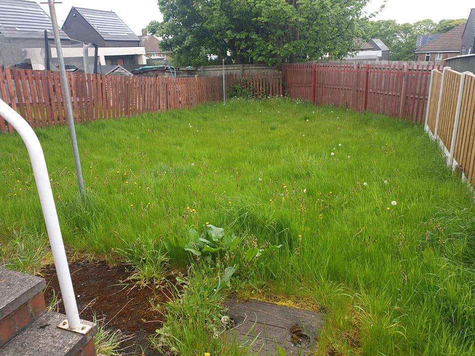 Garden Maintenance - Before