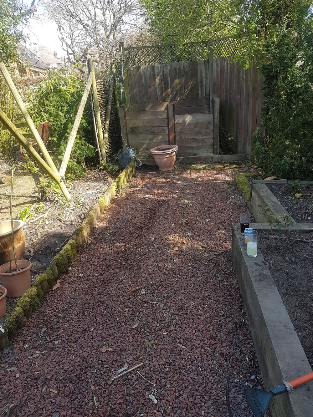 Garden Waste Clearance - After