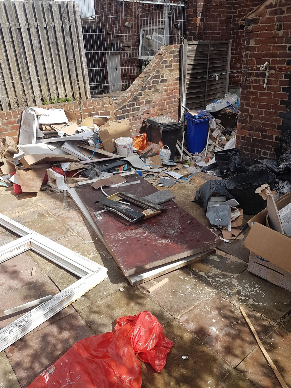 Garden Waste Removal Sheffield - Before